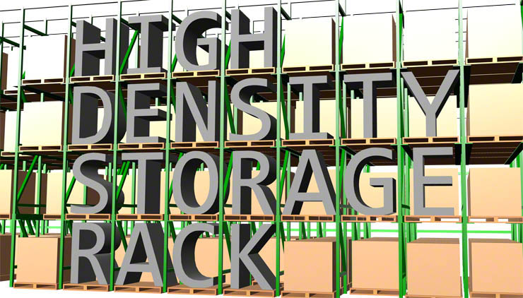 High Density Storage Rack