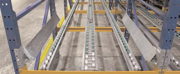 Pallet Flow Rail
