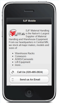 SJF Mobile Website