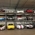 HIgh-end Race Cars in SJF Pallet Racks
