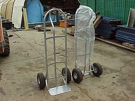 Rubber Wheel Hand Carts