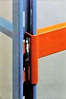 Closeup of Ridg-U-Rak Beam & Upright Connection