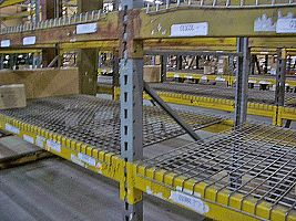 Heavy Duty Republic Pallet Rack with Wire Deck
