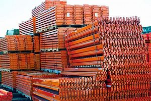 Ridg-U-Rak Pallet Rack Beams