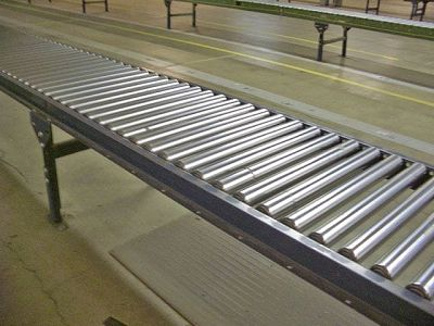 24-inch Wide Buschman Gravity Roller Conveyor