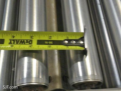 Roller Conveyor - Roller Spacing Measurement