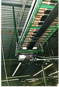 Underside of a Belt Driven Conveyor