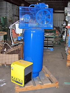 Quincy QT-3 Air Compressor w/Zeks Dryer (Ref 13)