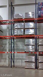 4-high x 2-wide Pallet Rack Bay