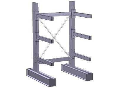 Single Sided Cantilever System