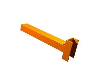 Cantilever Rack : Straight (Box) Arm