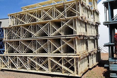 Used Ridg-u-Rak Structural Uprights