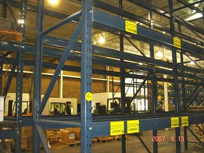 T-Bolt pallet rack shelving