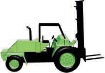 All Terrain Forklift