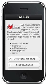 SJF Mobile Website