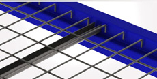 Flush Waterfall Style Wire Deck - Rear