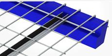 Standard Step Waterfall Style Wire Deck - Rear