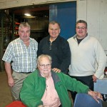 The Sterners, Gerry, Frank, Stafford and Jim