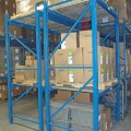Custom Blue Pallet Racking