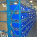Pallet Rack with Totes