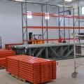 Staging Pallet Rack for Installation