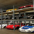 Pallet Rack System w/Cars