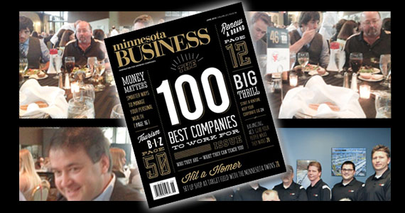 MN Business Magazine 100 Best Companies to Work for in MN - 2013