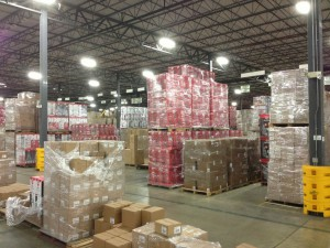 TTI Floor Care shipping area prior to SJF involvement.