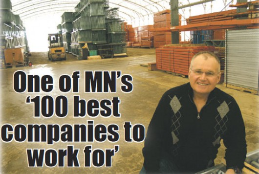 One of MN's '100 best companies to work for'
