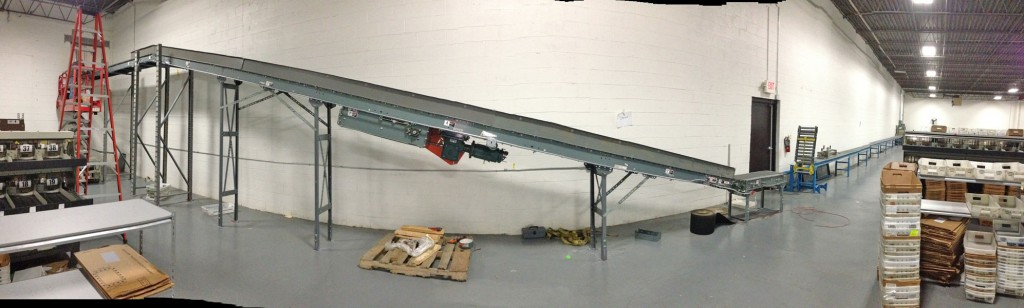 Panorama of UMS Conveyor Line