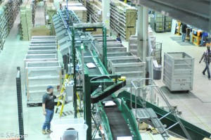 SJF air sweep sorter