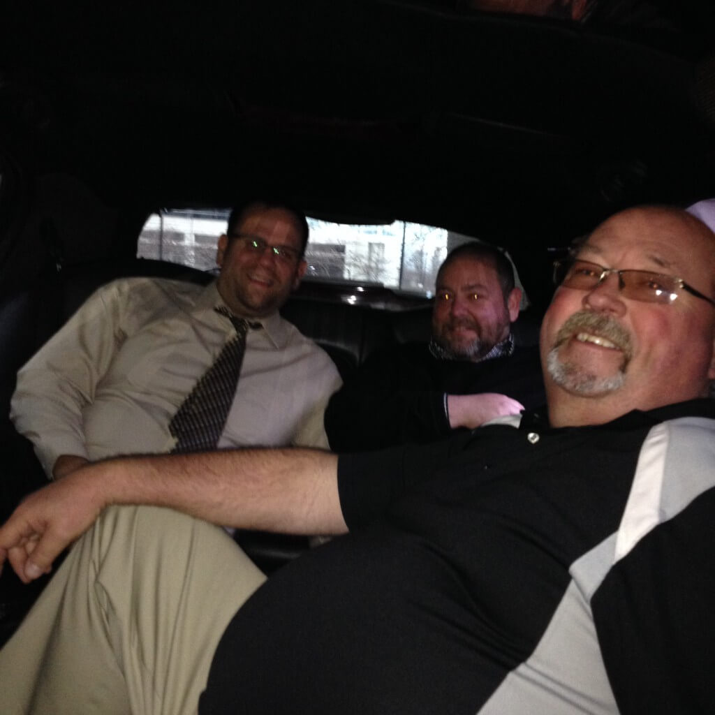 Eric, Tom and Vance heading to Promat