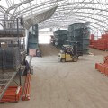 SJF Material Handling New Racking Tent