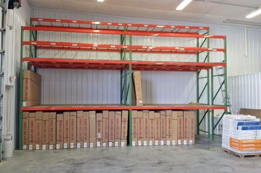 Pallet Rack Solutions - The Finished Rack