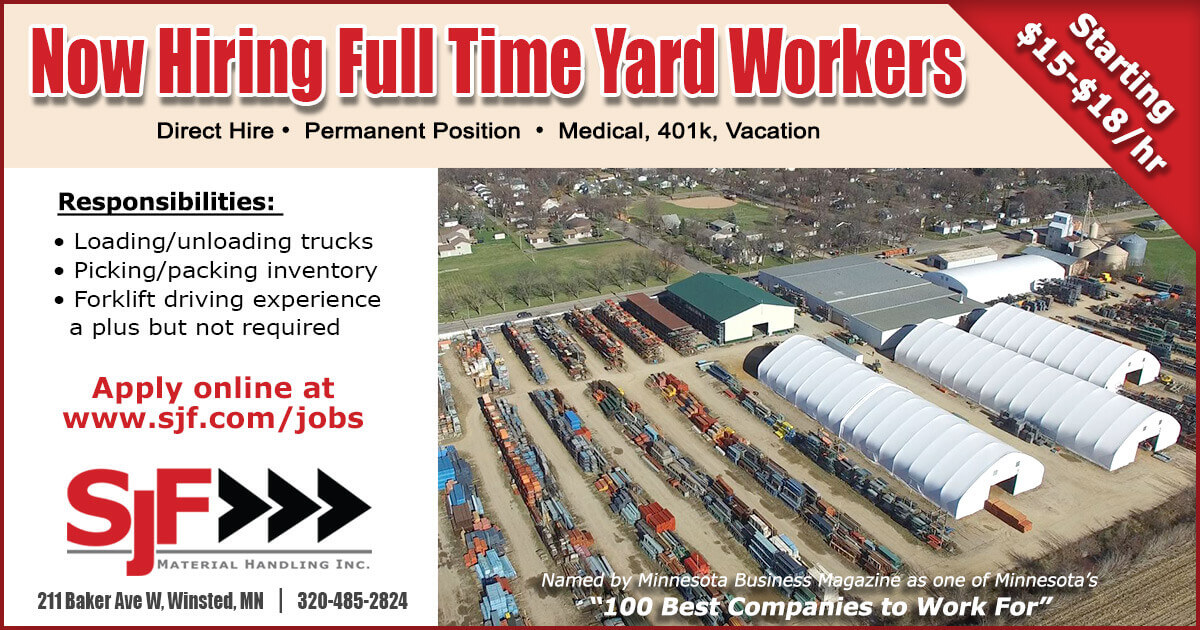 Help Wanted - Yard Workers