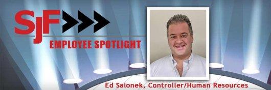 Ed Salonek, Controller & HR Manager