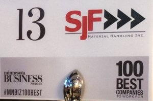 SJF at 100 Best Awards