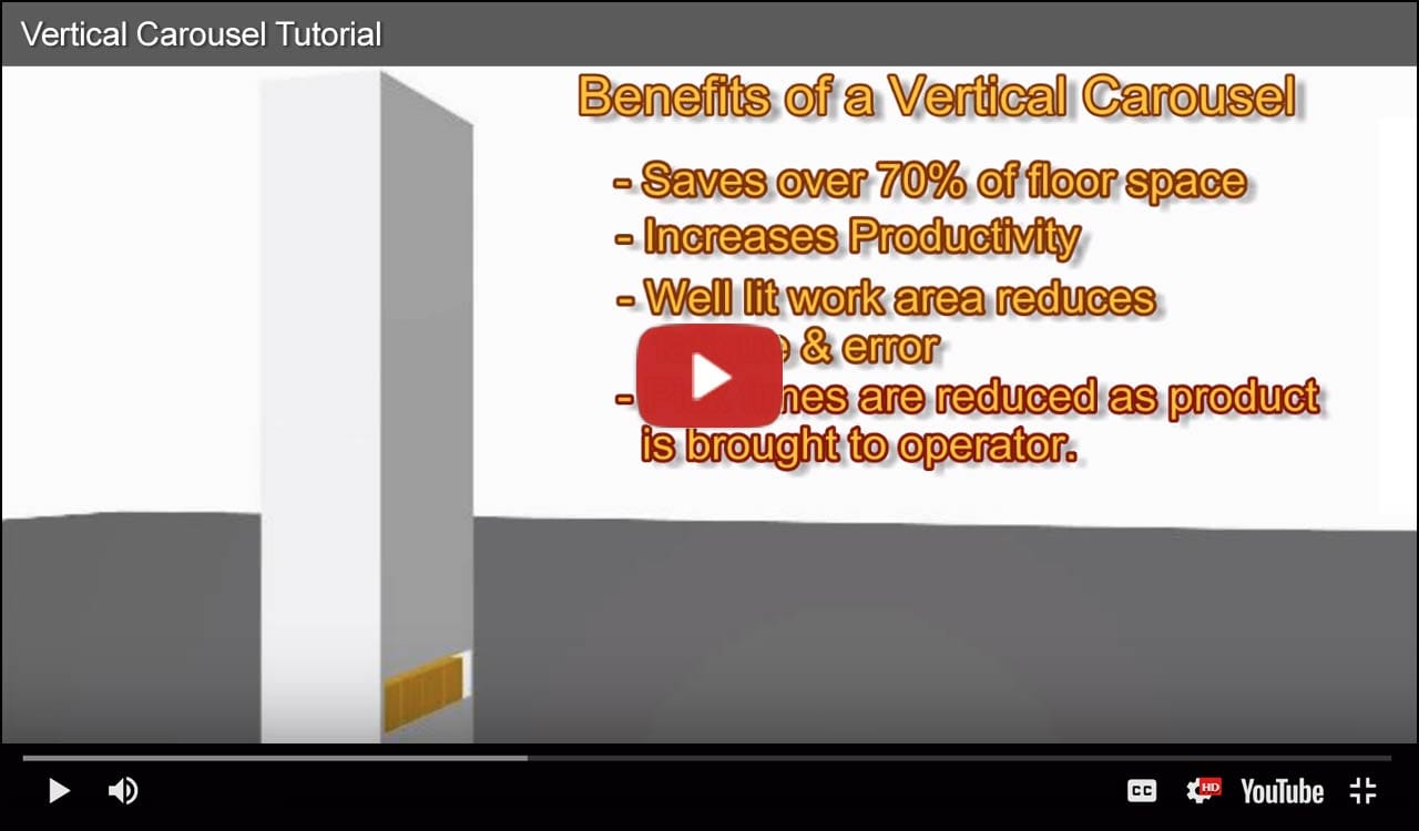 Features and Benefits of Vertical Carousels