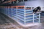 Interlake Carton Flow Bed