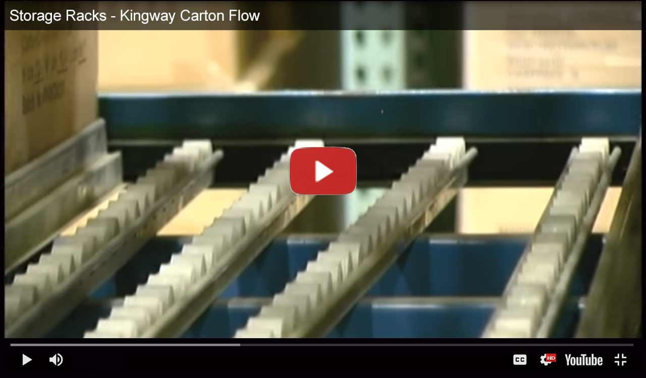 Kingway flow rack video