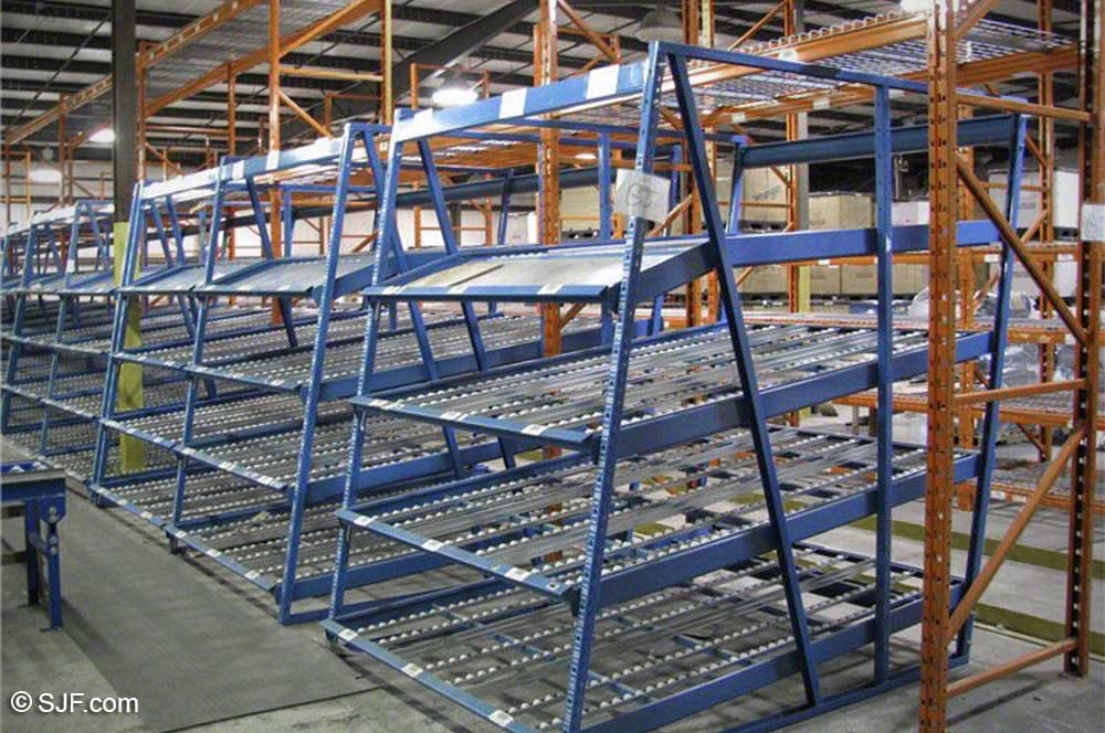 Used Kingway Carton Flow Racks for Sale | SJF.com