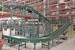 Decline conveyor from level 2 to level 1 - 24 inches wide