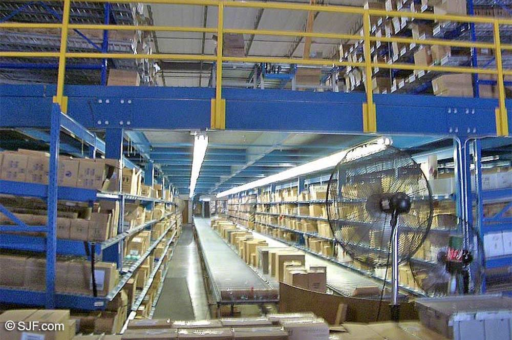 Pick Module - Center Aisle