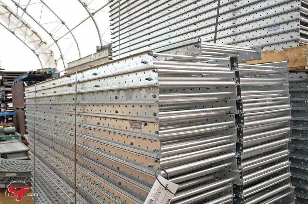 Gray Aluminum Span Track Hanger Pack of 5