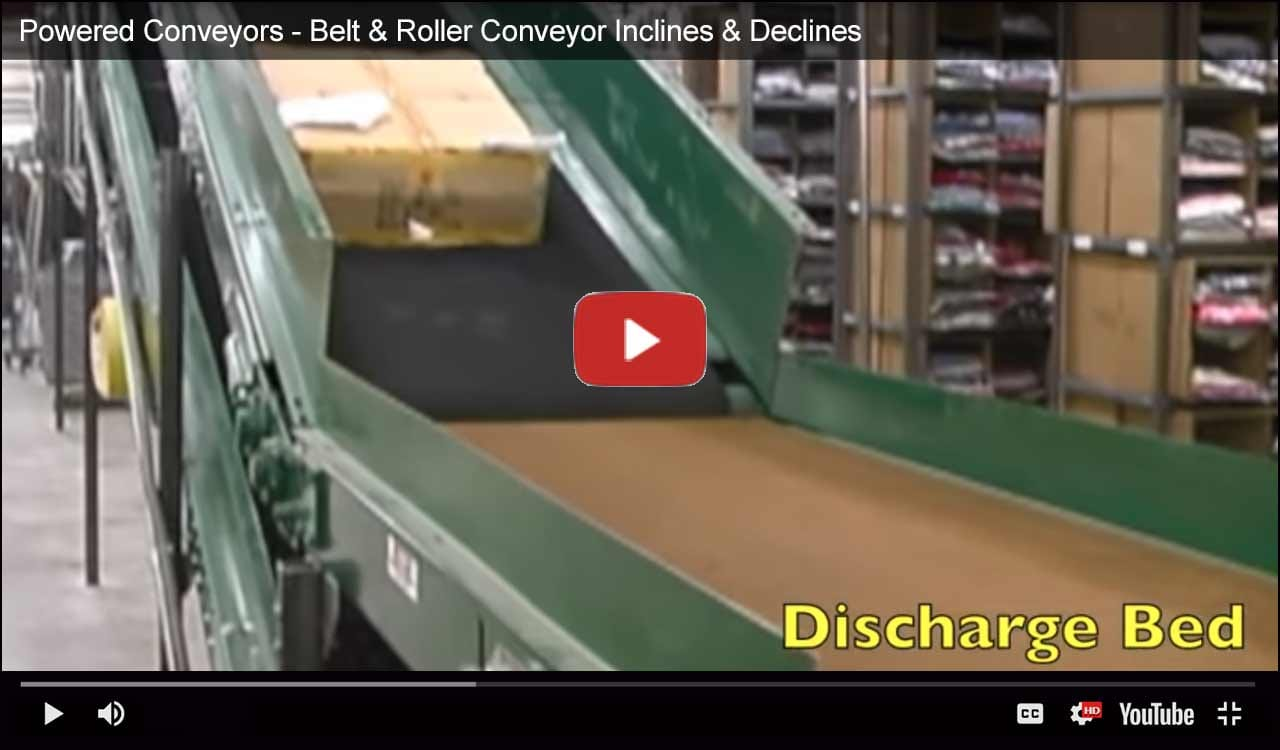 Sliderbed Incline/Decline Conveyor Video