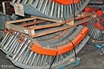 Ermanco Lineshaft Conveyor Curves