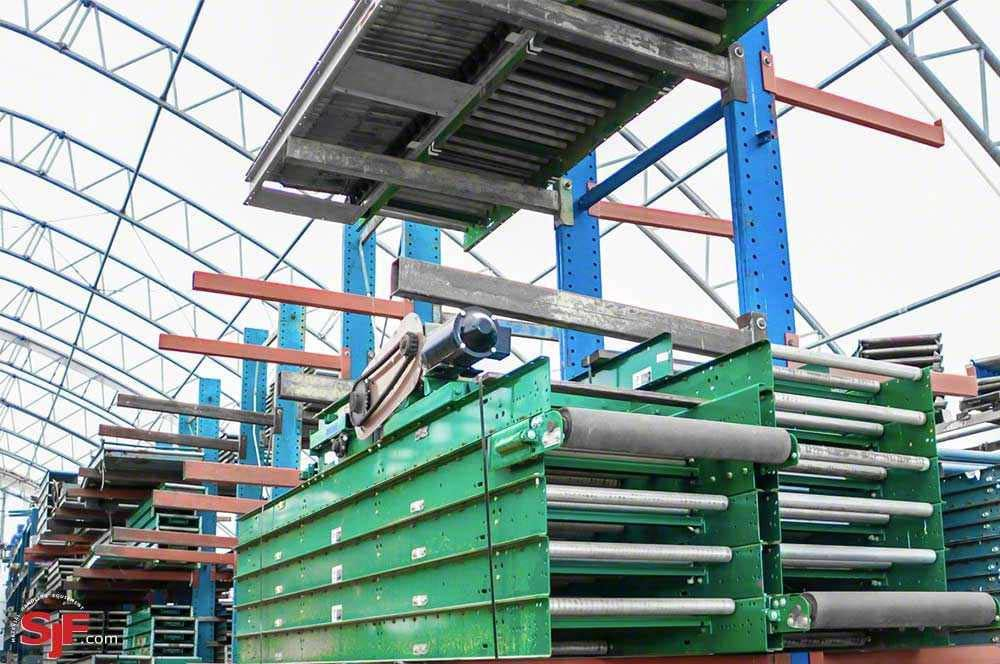 Used Conveyor - Rapistan Belt Over Roller
