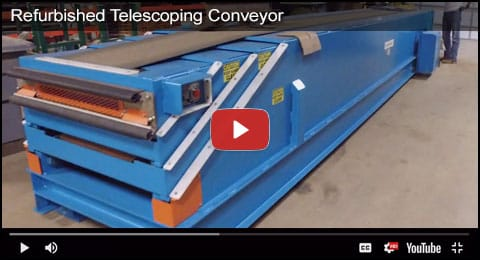 Refurbished Telescoping Conveyor