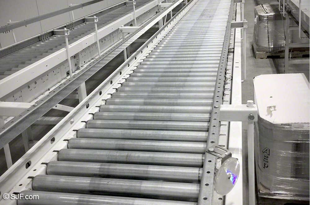 Hytrol Photo Eye Accumulation Conveyor