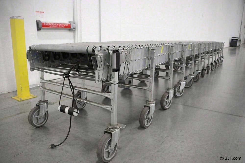 Skatewheel gravity conveyor